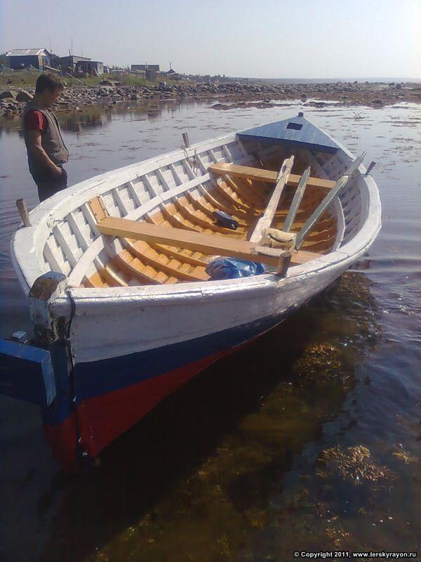 Изготовление деревянных лодок.